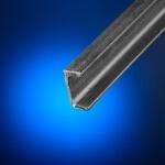 Perfil acero en U 40x20