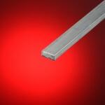 Hierro plano aluminio 25mm