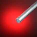 Barra redonda de aluminio maciza 8 mm