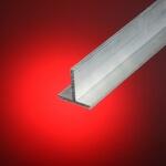 Perfil aluminio en T 40x40