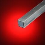 Tubo cuadrado aluminio 25x25 mm