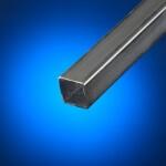 Tubo cuadrado acero negro 90 x 90 mm